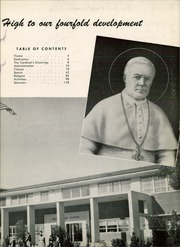 Page 7, 1956 Edition, Pius X High School - Tiara Yearbook (Downey, CA) online yearbook collection