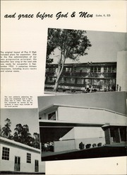 Page 9, 1956 Edition, Pius X High School - Tiara Yearbook (Downey, CA) online yearbook collection