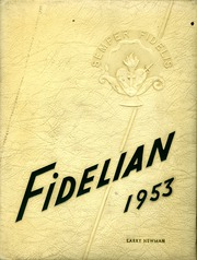 1953 Edition, Pomona Catholic High School - Fidelian Yearbook (Pomona, CA)