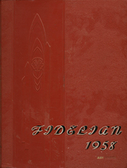 1958 Edition, Pomona Catholic High School - Fidelian Yearbook (Pomona, CA)