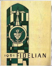 1961 Edition, Pomona Catholic High School - Fidelian Yearbook (Pomona, CA)