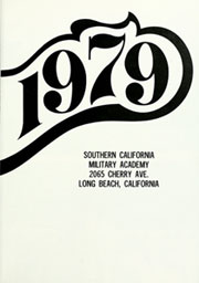 Page 5, 1979 Edition, Southern California Military Academy - Cadet Yearbook (Long Beach, CA) online yearbook collection