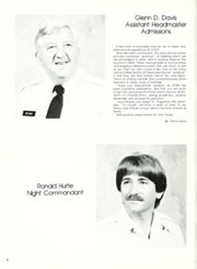 Page 12, 1981 Edition, Southern California Military Academy - Cadet Yearbook (Long Beach, CA) online yearbook collection