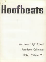 Page 5, 1960 Edition, John Muir High School - Hoofbeats Yearbook (Pasadena, CA) online yearbook collection
