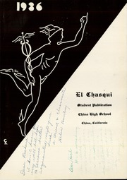 Page 9, 1936 Edition, Chino High School - El Chasqui Yearbook (Chino, CA) online yearbook collection