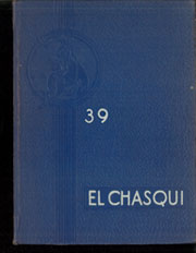 Page 1, 1939 Edition, Chino High School - El Chasqui Yearbook (Chino, CA) online yearbook collection