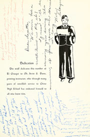 Page 11, 1939 Edition, Chino High School - El Chasqui Yearbook (Chino, CA) online yearbook collection