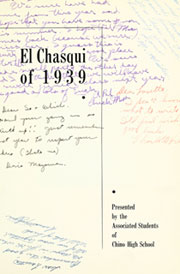 Page 7, 1939 Edition, Chino High School - El Chasqui Yearbook (Chino, CA) online yearbook collection