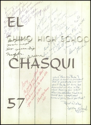 Page 5, 1957 Edition, Chino High School - El Chasqui Yearbook (Chino, CA) online yearbook collection