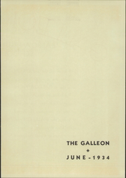 Page 5, 1934 Edition, Balboa High School - Galleon Yearbook (San Francisco, CA) online yearbook collection