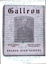 Page 6, 1941 Edition, Balboa High School - Galleon Yearbook (San Francisco, CA) online yearbook collection