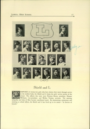 Page 17, 1928 Edition, Lowell High School - Red and White Yearbook (San Francisco, CA) online yearbook collection
