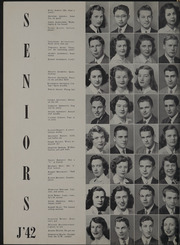 Page 16, 1942 Edition, Lowell High School - Red and White Yearbook (San Francisco, CA) online yearbook collection