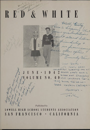 Page 5, 1942 Edition, Lowell High School - Red and White Yearbook (San Francisco, CA) online yearbook collection