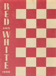 1959 Edition, Lowell High School - Red and White Yearbook (San Francisco, CA)