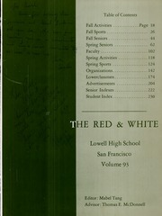 Page 5, 1967 Edition, Lowell High School - Red and White Yearbook (San Francisco, CA) online yearbook collection