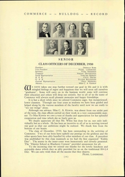 Page 14, 1930 Edition, High School of Commerce - Commerce Yearbook (San Francisco, CA) online yearbook collection