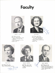 Page 9, 1953 Edition, Brethren High School - Element of Style Yearbook (Paramount, CA) online yearbook collection