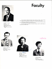 Page 10, 1954 Edition, Brethren High School - Element of Style Yearbook (Paramount, CA) online yearbook collection