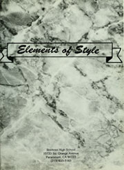 Page 5, 1988 Edition, Brethren High School - Element of Style Yearbook (Paramount, CA) online yearbook collection