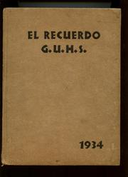 Page 1, 1934 Edition, Grossmont High School - El Recuerdo Yearbook (El Cajon, CA) online yearbook collection