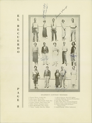 Page 12, 1934 Edition, Grossmont High School - El Recuerdo Yearbook (El Cajon, CA) online yearbook collection