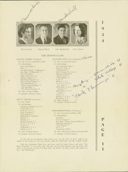 Page 15, 1934 Edition, Grossmont High School - El Recuerdo Yearbook (El Cajon, CA) online yearbook collection