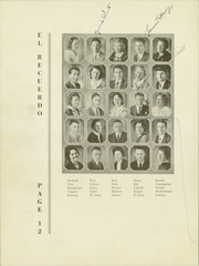 Page 16, 1934 Edition, Grossmont High School - El Recuerdo Yearbook (El Cajon, CA) online yearbook collection