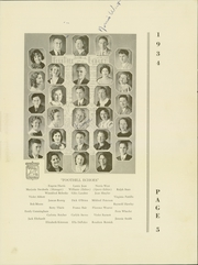 Page 9, 1934 Edition, Grossmont High School - El Recuerdo Yearbook (El Cajon, CA) online yearbook collection