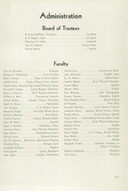 Page 13, 1940 Edition, Grossmont High School - El Recuerdo Yearbook (El Cajon, CA) online yearbook collection