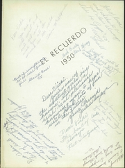 Page 5, 1950 Edition, Grossmont High School - El Recuerdo Yearbook (El Cajon, CA) online yearbook collection