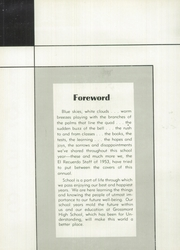 Page 6, 1953 Edition, Grossmont High School - El Recuerdo Yearbook (El Cajon, CA) online yearbook collection