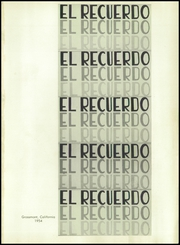 Page 5, 1954 Edition, Grossmont High School - El Recuerdo Yearbook (El Cajon, CA) online yearbook collection