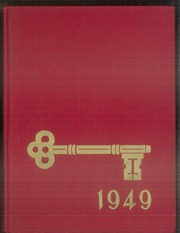 1949 Edition, Montebello High School - Golden Key Yearbook (Montebello, CA)