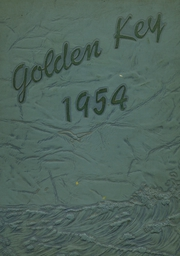 1954 Edition, Montebello High School - Golden Key Yearbook (Montebello, CA)