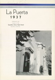 Page 5, 1937 Edition, Caruthers Union High School - La Puerta Yearbook (Caruthers, CA) online yearbook collection