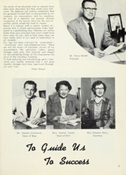 Page 13, 1954 Edition, Caruthers Union High School - La Puerta Yearbook (Caruthers, CA) online yearbook collection