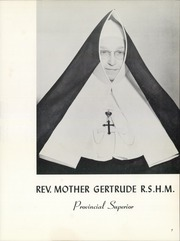 Page 11, 1961 Edition, Sacred Heart of Mary Montebello - Cormar Yearbook (Montebello, CA) online yearbook collection