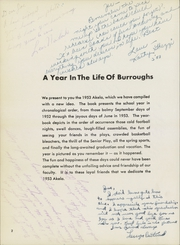 Page 6, 1953 Edition, John Burroughs High School - Akela Yearbook (Burbank, CA) online yearbook collection