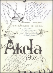 Page 5, 1957 Edition, John Burroughs High School - Akela Yearbook (Burbank, CA) online yearbook collection