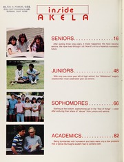 Page 6, 1984 Edition, John Burroughs High School - Akela Yearbook (Burbank, CA) online yearbook collection