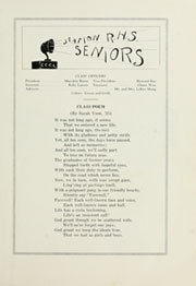 Page 17, 1925 Edition, Reedley High School - Porcupine Yearbook (Reedley, CA) online yearbook collection