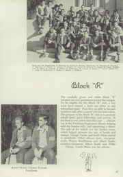 Page 49, 1945 Edition, Reedley High School - Porcupine Yearbook (Reedley, CA) online yearbook collection