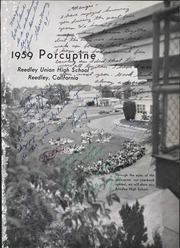 Page 5, 1959 Edition, Reedley High School - Porcupine Yearbook (Reedley, CA) online yearbook collection