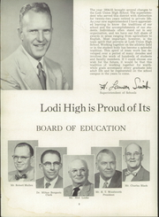 Page 12, 1955 Edition, Lodi Union High School - Tokay Yearbook (Lodi, CA) online yearbook collection