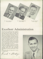 Page 13, 1955 Edition, Lodi Union High School - Tokay Yearbook (Lodi, CA) online yearbook collection