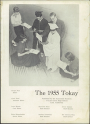 Page 5, 1955 Edition, Lodi Union High School - Tokay Yearbook (Lodi, CA) online yearbook collection