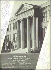 Page 7, 1960 Edition, Lodi Union High School - Tokay Yearbook (Lodi, CA) online yearbook collection