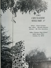 Page 5, 1983 Edition, Valley Christian High School - Crusader Yearbook (Cerritos, CA) online yearbook collection