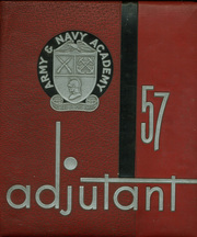 1957 Edition, Army and Navy Academy - Adjutant Yearbook (Carlsbad, CA)